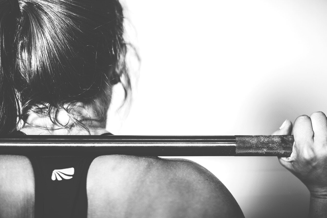 Weight lifting it gives you amazing athletic shape, but that's not all